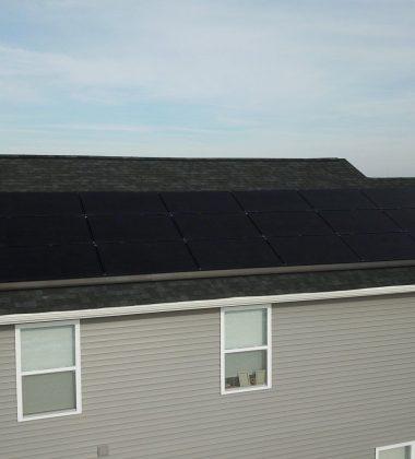21 Solar Panels Installed