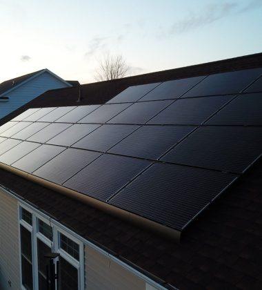 28 Solar Panels Installed