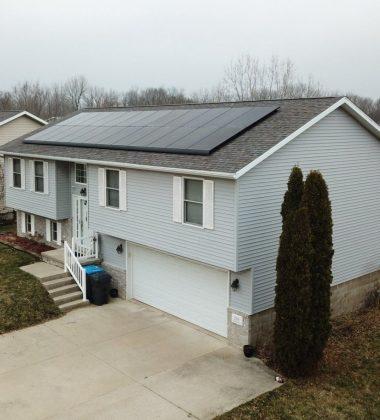 24 Solar Panels Installed