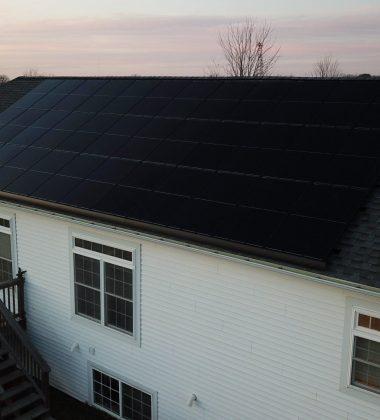 35 Solar Panels Installed