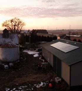 40 Solar Panels Installed in Sparland, IL